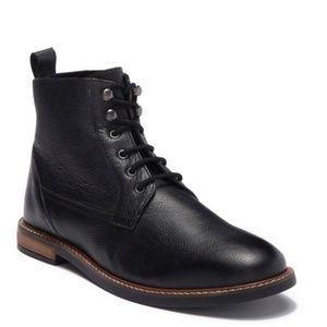 Ben Sherman Brent Black Leather Boot